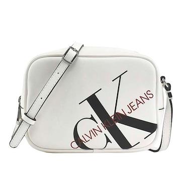 ◆新品本物◆カルバンクラインジーンズ ショルダーバック(WT)『K60K606854』◆