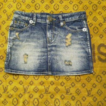 TOTOJEANSデニムミニ