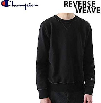 チャンピオン スウェットシャツ 10oz 19FW ブラック染め XL