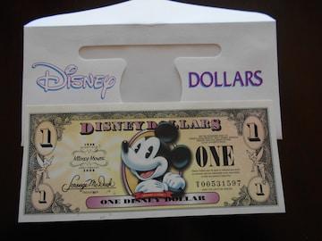 ディズニーダラー(ミッキーマウス80周年記念紙幣)