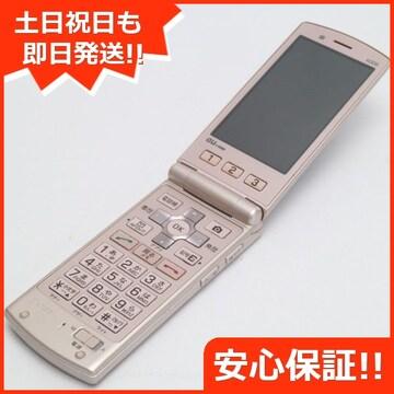 ●安心保証●美品●au K008 簡単ケータイ ピンク●白ロム