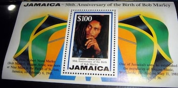 Bob Marley 生誕50周年記念切手 セット