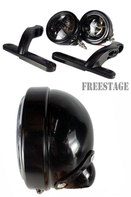 〜2013ハーレーツーリングモデル用LEDフォグランプ&ブラケット < 自動車/バイク