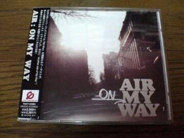AIR CD「ON MY WAY」車谷浩司●