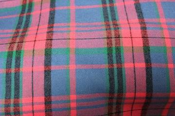 綿100%先染め生地巾145cm長さ3m微起毛チェック柄3