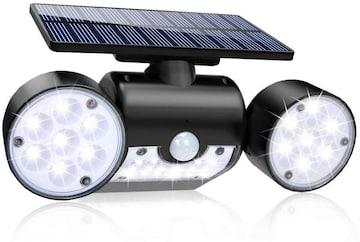 人感センサーライト ソーラーledライト 高輝度 30led 350°