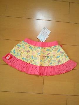 新品カラフルPOPスカート80ピンク★ベビドBABYDOLLベビードール