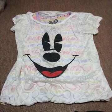 お子様用Tシャツ(ミニーマウス)160�p