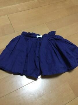 プティマイン 女の子用 キュロットスカート 春夏物