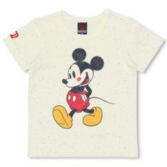 新品BABYDOLL☆ディズニー ミッキー Tシャツ 140 オフホワイト ベビードール