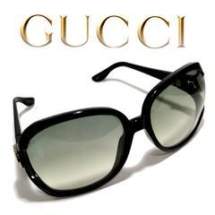 極レア 1スタ★グッチ/Gucci【イタリア製】デカ サングラス