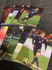 【サッカー】2018 JAPAN NATIONAL TEAM CARD 10枚セット(7)