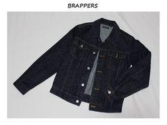 ブラッパーズ*BRAPPERS★Gジャン(M)/used美品ネイビー