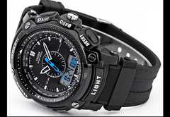 O腕時計 新品 OSEN-31 デジタル Muller Casio Timex好き必見♪