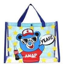 ♪新品 ANAP キャラクタープールバッグ ブルー♪