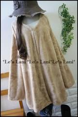 新品*100円〜☆キャメル系ファーコート/JK*大きいサイズ*4L