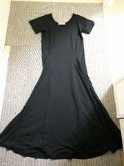 グレイル/GRLTシャツマキシワンピースロングブラック