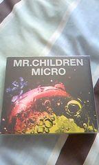Mr.Childrenの2枚組ベスト「MICRO」(^^)