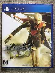 ファイナルファンタジー零式HD 美品 PS4 初回コード付き