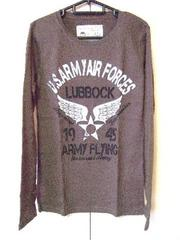 ★Military★ミリタリー★US.ARMY★ワッフル★プリントロンT/L★新品★