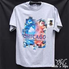 CHICAGO CUBS MLB シカゴ カブス TEE Tシャツ 灰 2008 183 L