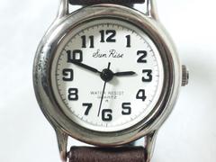 5721/SunRiseお洒落なラウンドクォーツレディース腕時計格安出品