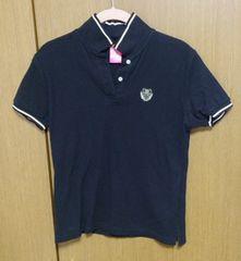 RUSS-Kポロシャツ 黒