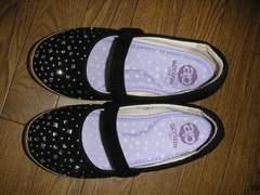 キラキラが付いている靴 used