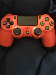 デュアルショック4 PS4コントローラー レッド