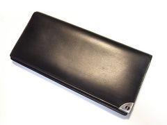 ☆送料込☆ダンヒル ロンドンスタイル ブラックレザー製長財布