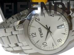 極美【ギャラ・箱付】1スタ フェンディ/FENDI メンズ腕時計