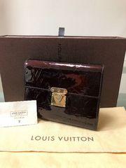 1円 ◆正規品◆ 美品 ◆ ルイヴィトン ヴェルニ アマラント 財布