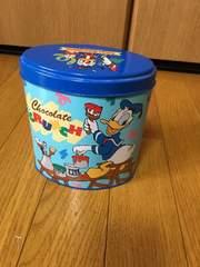 TOKYODISNEYLANDドナルド楕円形の缶