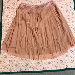 新品同様  大きなサイズ ミントブリーズ プリーツスカート 15号