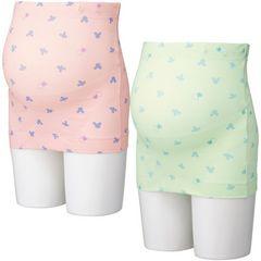 新品ディズニープリント妊婦帯ピンクLサイズ腹帯