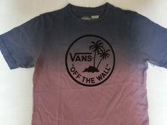 USA購入 【VANS】 ヤシの木ロゴ グラデーションT US BOY'S M