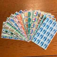 記念切手6000円分(20円切手)未使用 バラ 額面割れ