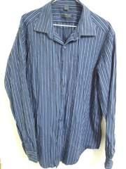 DKNY ストライプシャツ XL