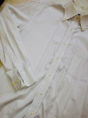 UNIQLOワイシャツストライプLサイズ