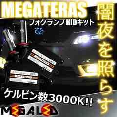 mLED】レクサスLS600hl前期中期/フォグランプHIDキット/HB4/3000K