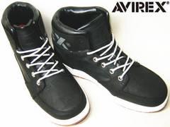 AVIREXアビレックス カジュアル ハイカット スニーカー12004黒11