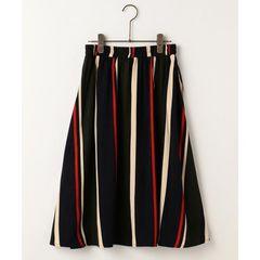 RAY CASSIN マルチストライプスカート