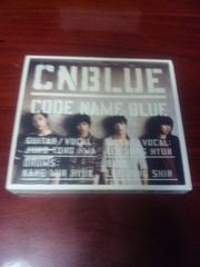CNBLUE 初回限定CD+DVD「CODE NAME BLUE」K-POP 韓国