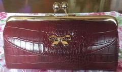 ガマ口の長財布