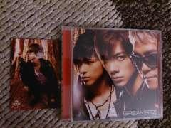 BREAKERZ「灼熱/世界は踊る」初回DVD+トレカ付/DAIGO