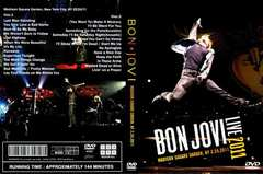 BON JOVI M.S.G ニューヨーク 2days 初日 2011 ボンジョヴィ