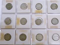 貨幣 古銭 希少 稲 百円銀貨 12枚 昭和39年