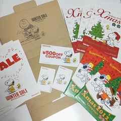 スヌーピー/SNOOPY×タワーレコード非売品ステッカー等★2012年-2015年キャンペーン