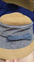 日差し避け★ 麦わら帽子 UV対策に