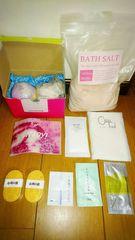お風呂セット LUSH 無印良品 入浴剤 DHC KOSE 美容液 バスソルト